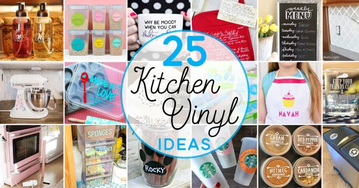 25 Creative DIY Kitchen Vinyl Ideas (Some with FREE Cut Files!) | Where The Smiles Have Been #vinyl #heattransfervinyl #HTV #printablevinyl #etchedglassvinyl #etchedglass #kitchen #DIY #home #homedecor #kitchendecor #personalizedcup #petprojects #freecutfiles #Silhouette #Cricut