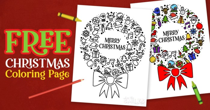 FREE Christmas Coloring Printable - Great for Classroom Holiday Parties! | Where The Smiles Have Been #Christmas #coloring #free #FreePrintable #holiday #ChristmasParty #classroom #coloringsheet #coloringpagesforkids