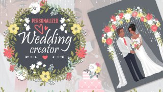Personalized Wedding Creator