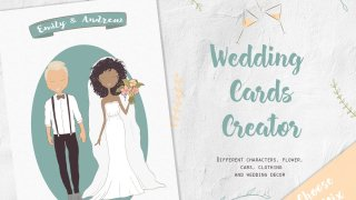 Wedding Cards Creator