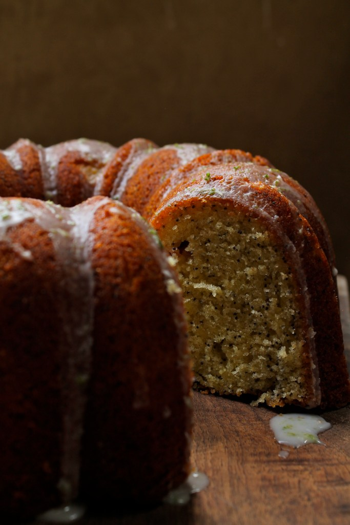 Lime & Grapefruit Poppyseed Bundt Cake