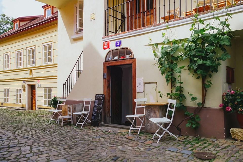Kavarna Novy Svet Praga