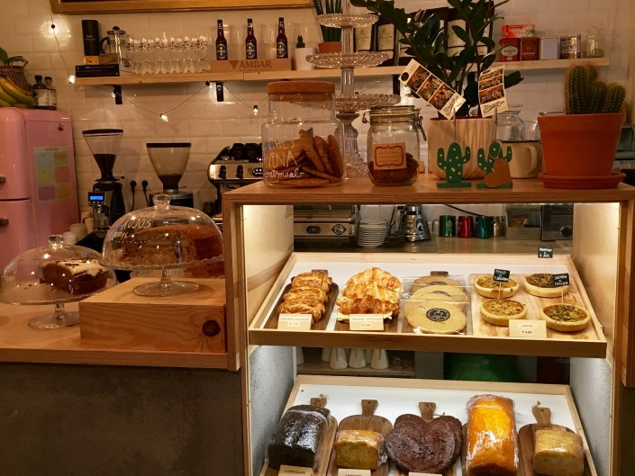 Sugar Coffee & Co Madrid. Pastries Cakes Bar.