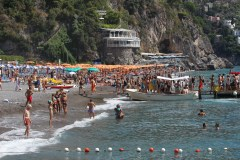 Positano hotels on the beach