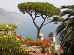 towns of the amalfi coast - ravello