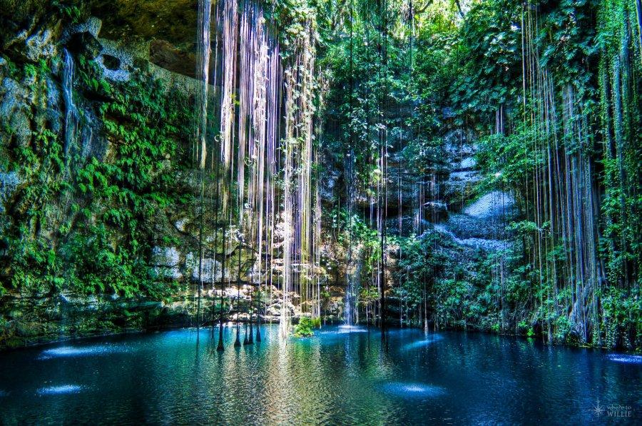 Ik Kil Cenote Yucatan William Woodward