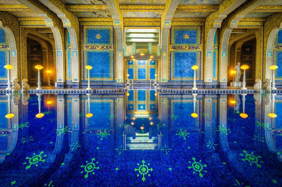 Roman Pool California William Woodward
