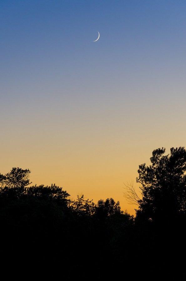 Sliver Sunset Illinois William Woodward