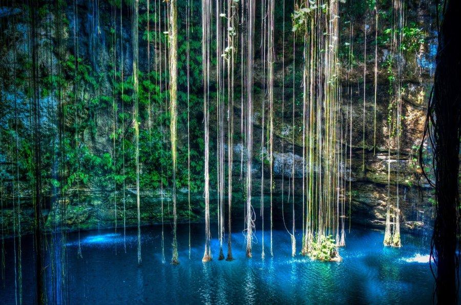 Crystal Blue Yucatan William Woodward
