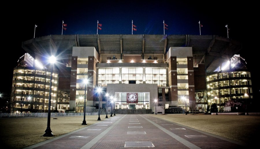 Bryant Denny Tuscaloosa William Woodward