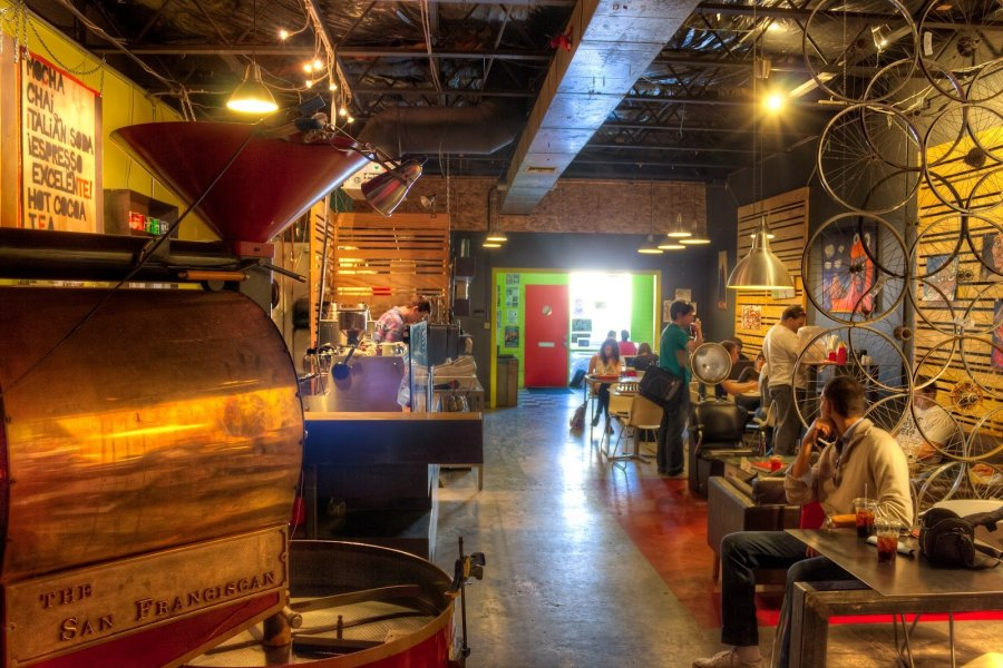 Industrial Coffee Tempe William Woodward