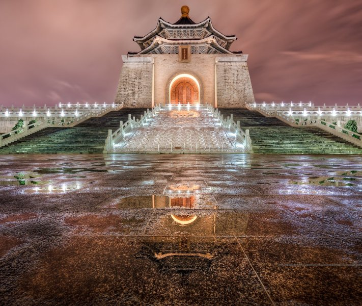 Nightfall at Chiang Taipei William Woodward