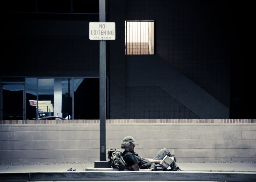 No Loitering Arizona William Woodward