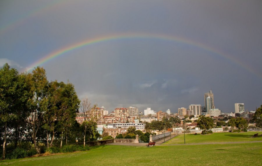 Rainbow Sydney William Woodward