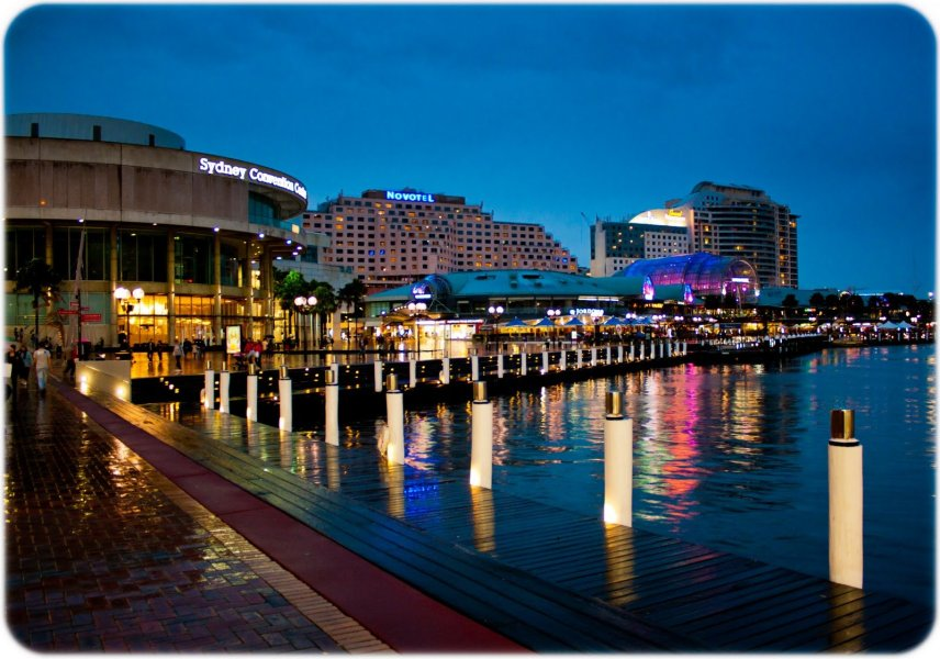 Darling Harbour Australia William Woodward