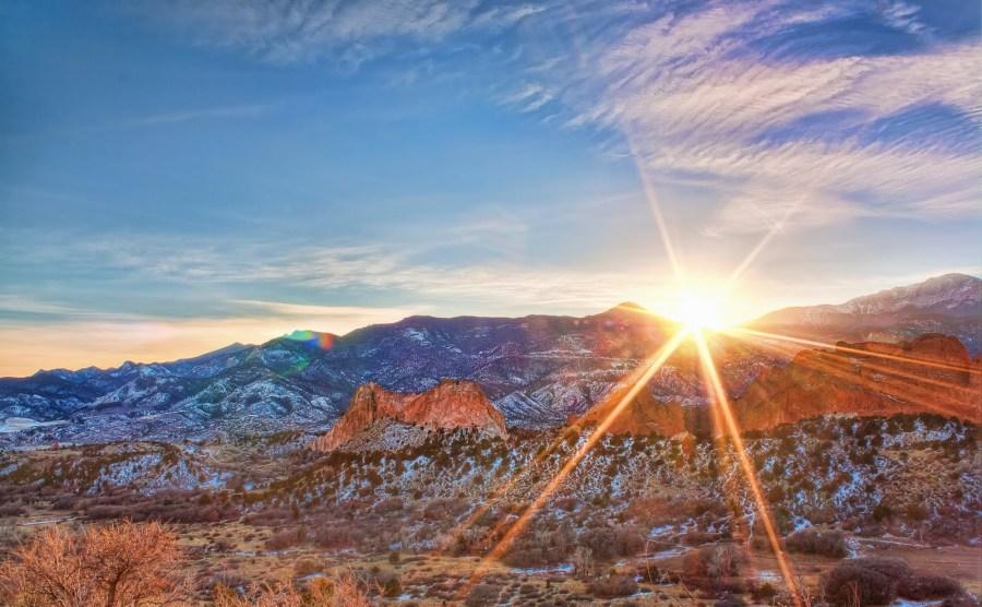 Garden of Gods Colorado William Woodward