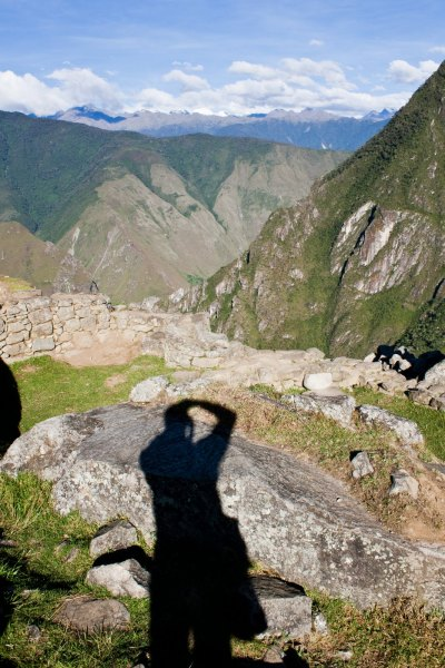 Shadow Mountain Machu Picchu William Woodward