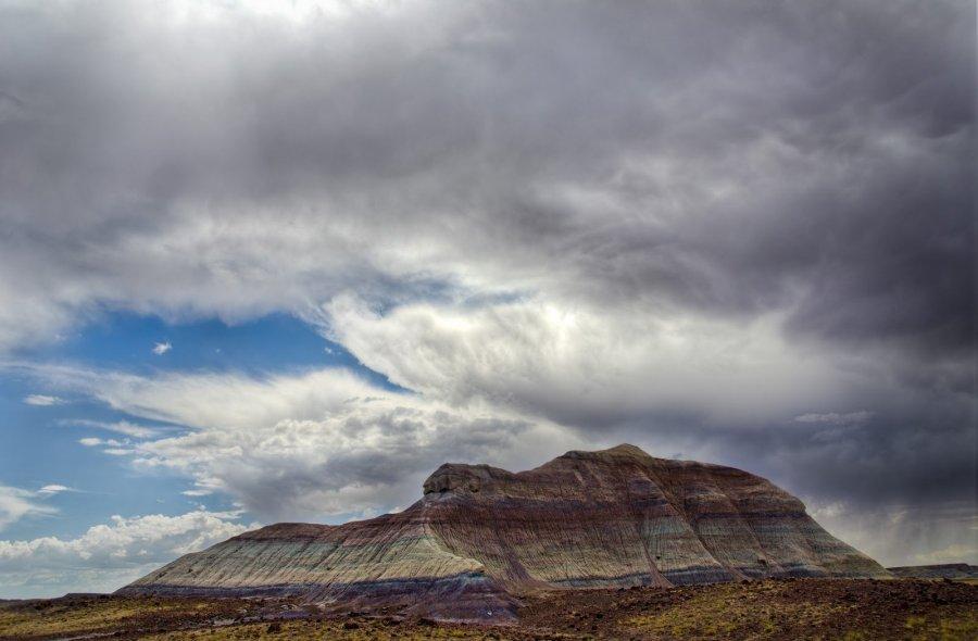 Storm Over Desert Arizona William Woodward