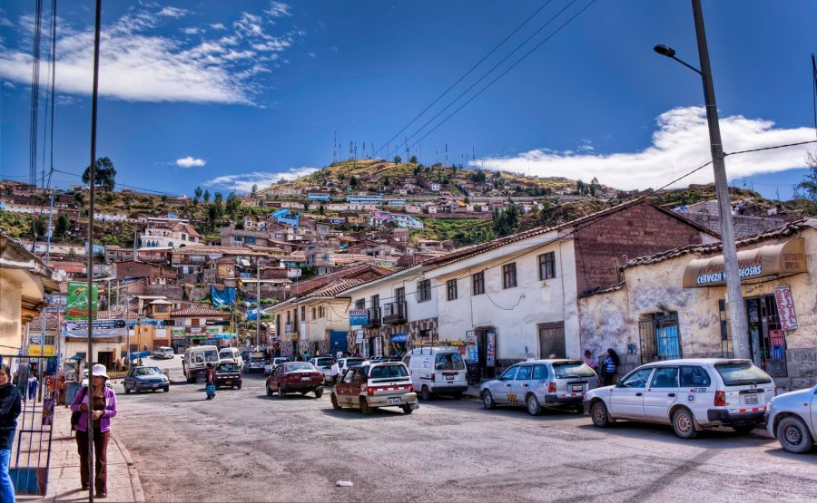 Hills of Cusco Peru William Woodward