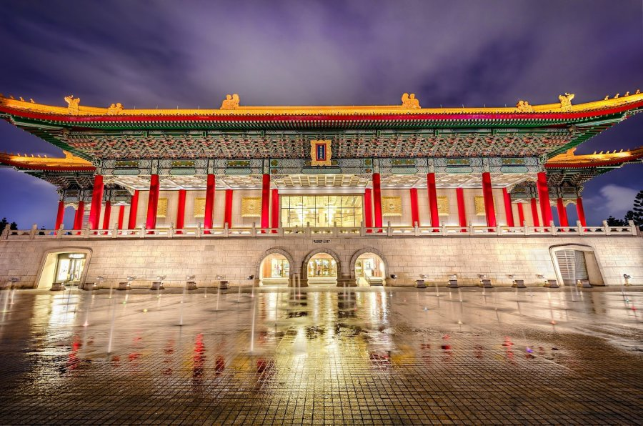 National Theater Taiwan William Woodward