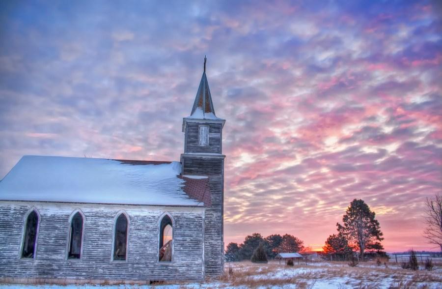 Winter Sunrise Nebraska William Woodward