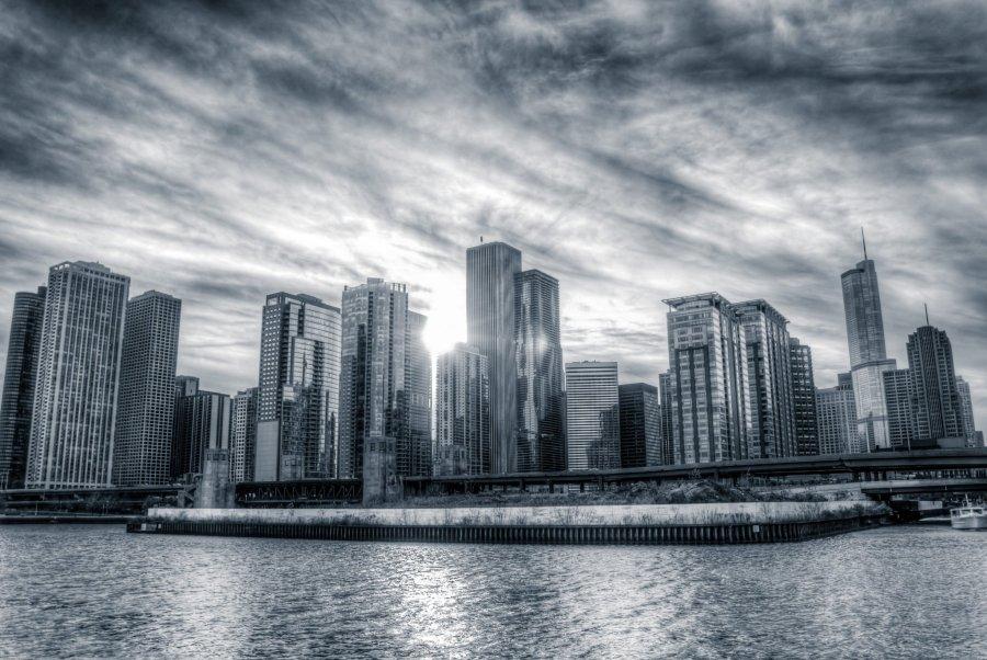 Bursts of Light Chicago William Woodward