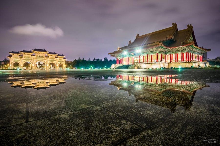 Night Chiang Kai-shek William Woodward