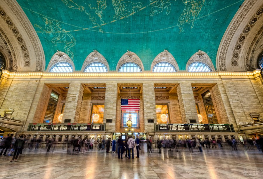 Motion in Grand Central Station