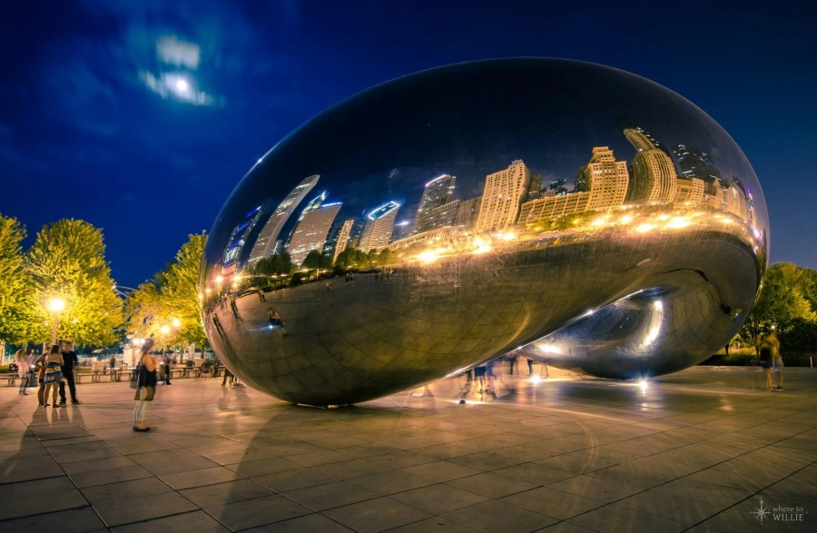 The Cloud Gate Chicago William Woodward
