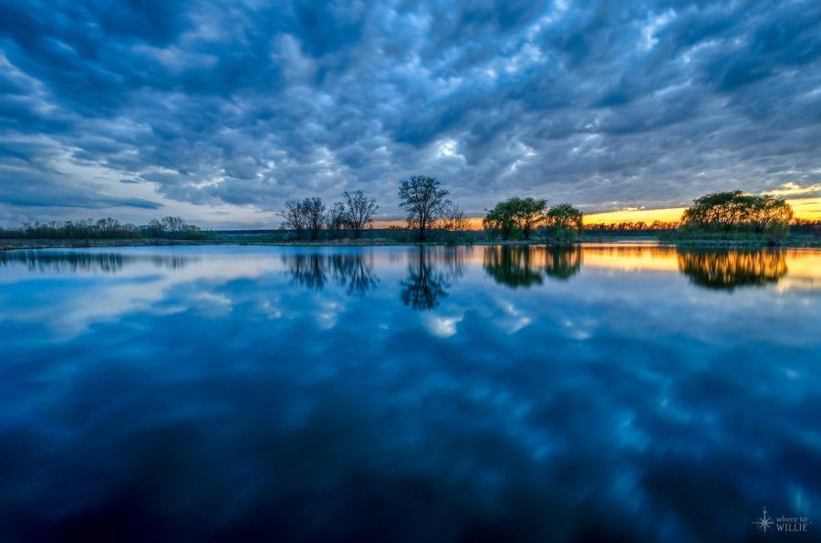 Wide Angle Reflections