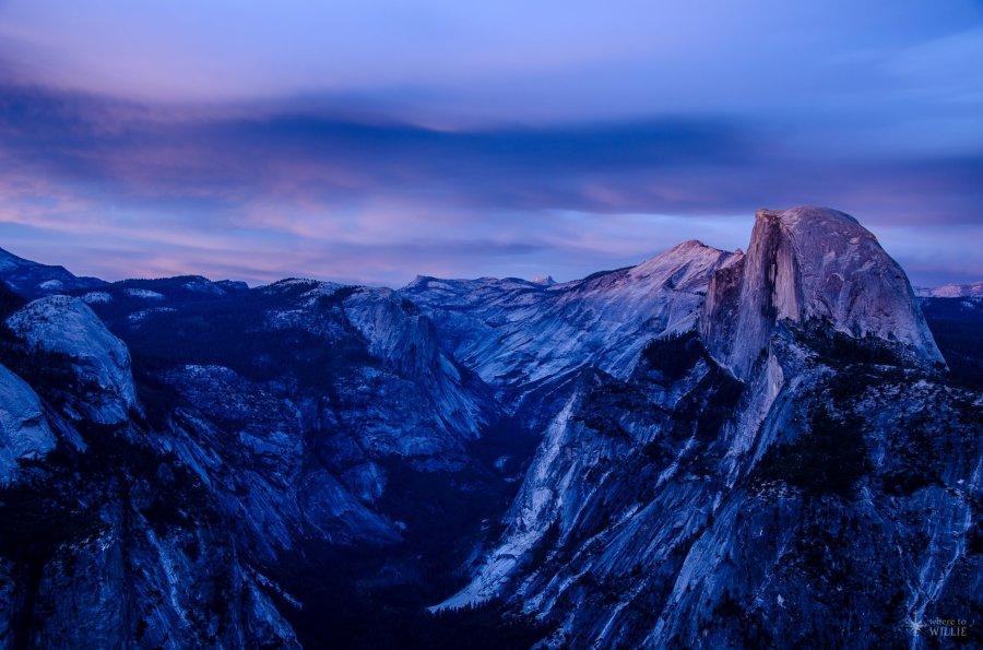 Sunset Glacier Point William Woodward