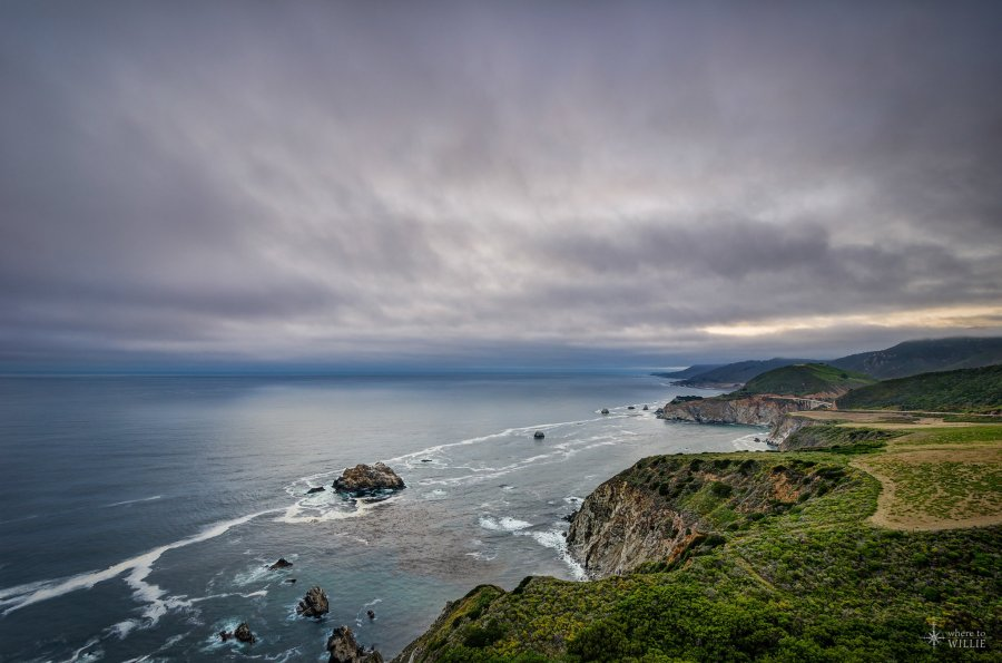 Highway 1 Big Sur William Woodward