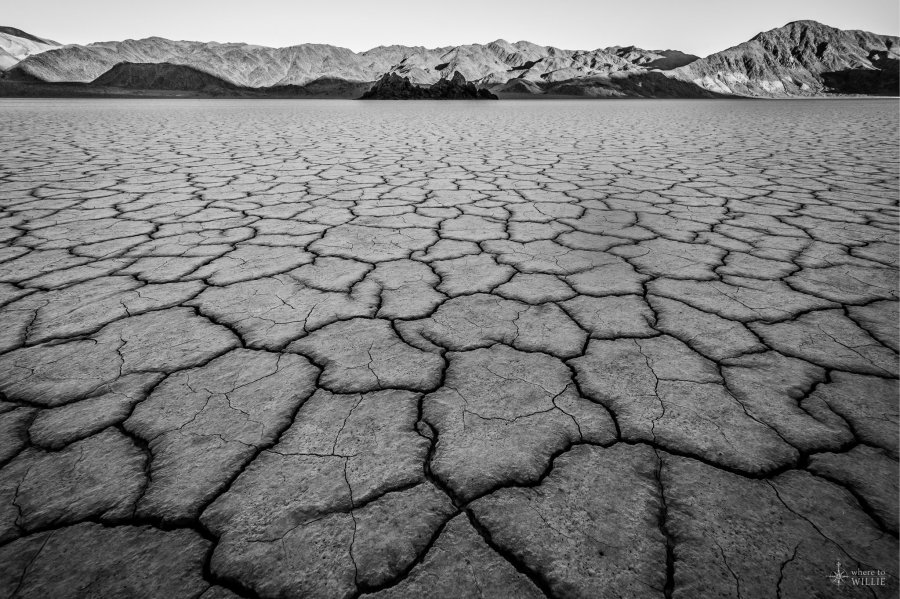 death valley racetrack playa grandstand william woodward