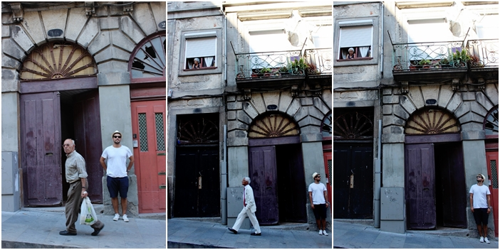 Edgar on Oporto streets