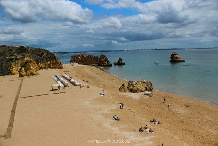 Praia da Dona Ana Algarve Where Two Go To