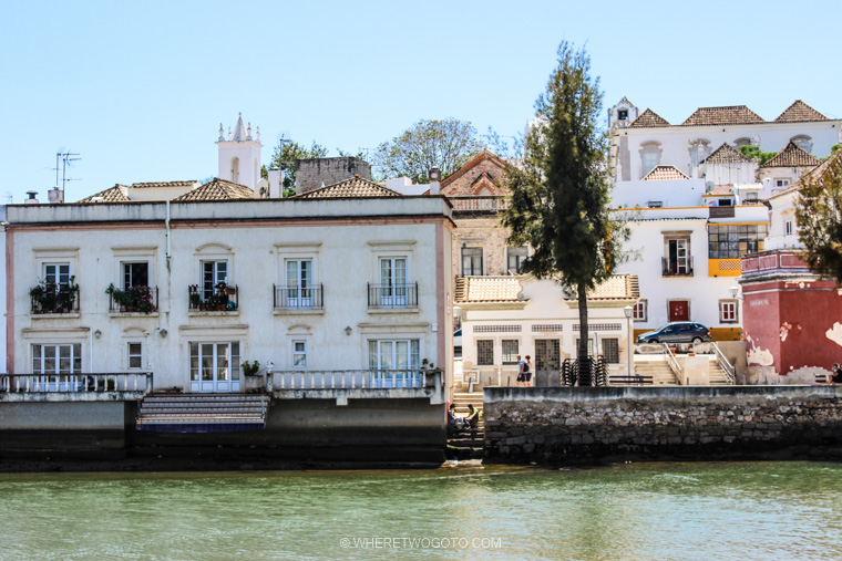 Tavira Algarve Portugal Where Two Go To