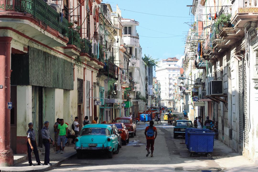 Classic Car street Havana Cuba Where Two Go To