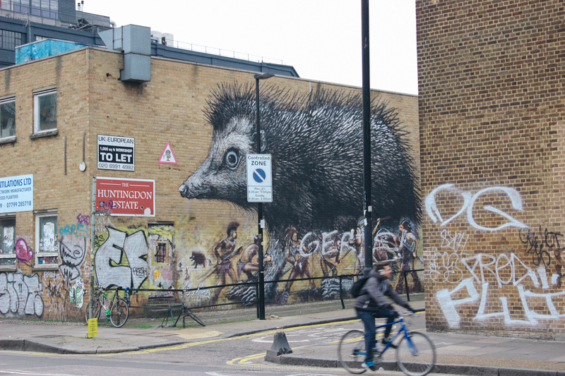 graffiti london