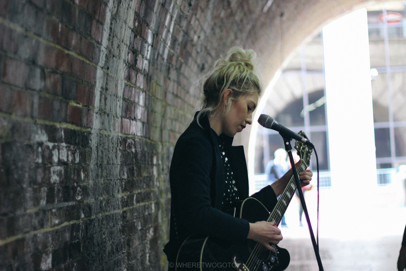 street performer london