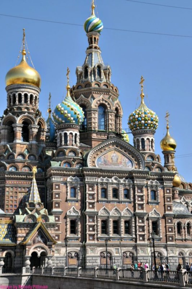 My visit to The Church on Spilled Blood in St. Petersburg.