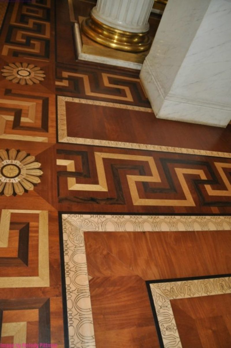 Parquet floors at The Hermitage, St. Petersburg.