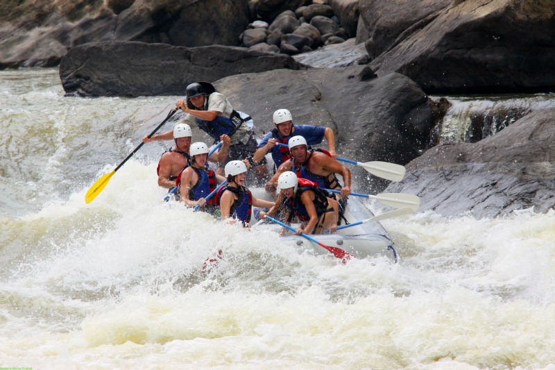 Whitewater rafting is top-notch in the mountain state of West Virginia.