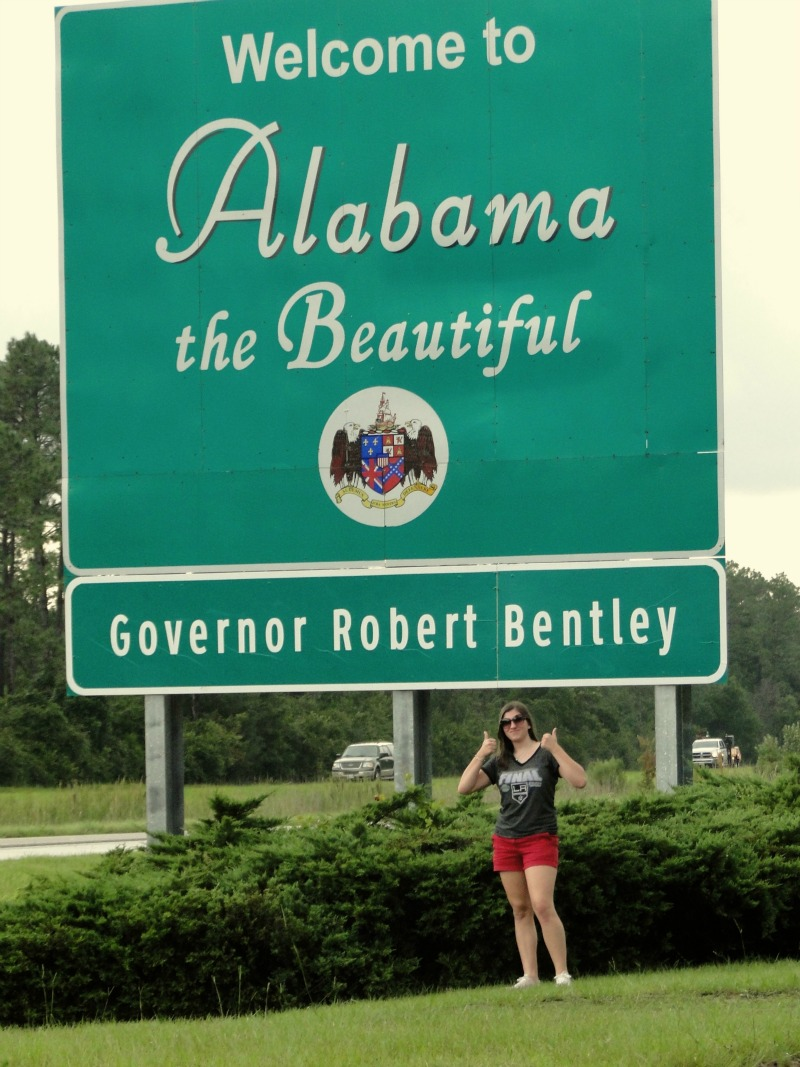 alabama state sign