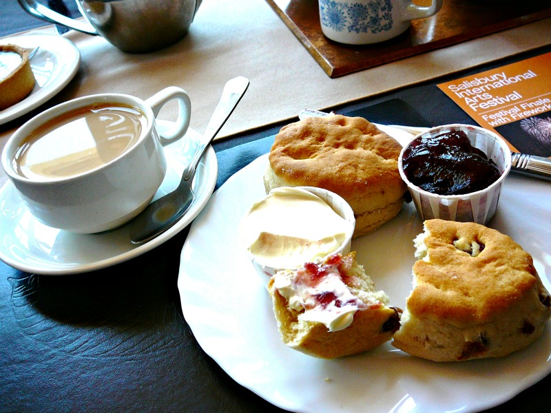 Nothing beats a proper English afternoon tea.