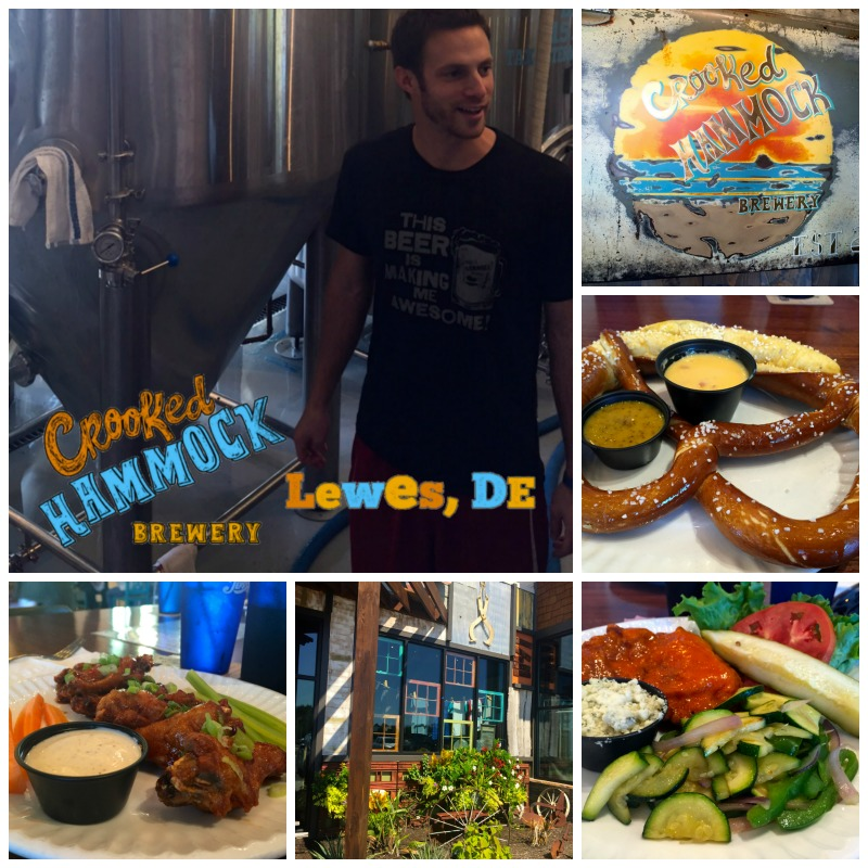 Eating or drinking at the Crooked Hammcok is one of the cool things to do in Delaware.