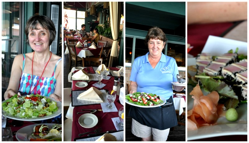 Delicious eats from the Grill at Riverview in NSB, Volusia County, Florida.