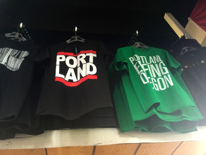 48 hours in portland, oregon t-shirts