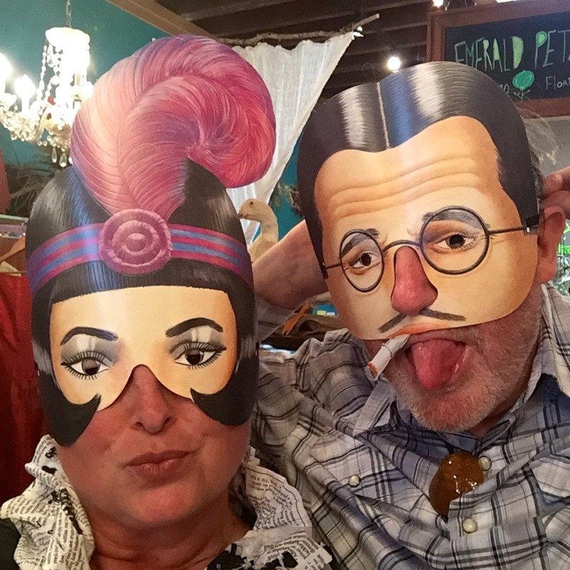 48 hours in portland, oregon fun masks