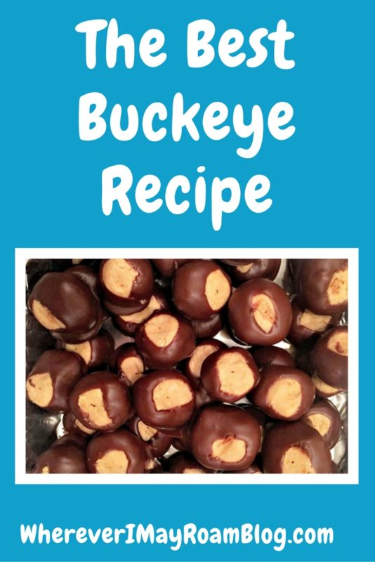 peanut butter buckeye recipe
