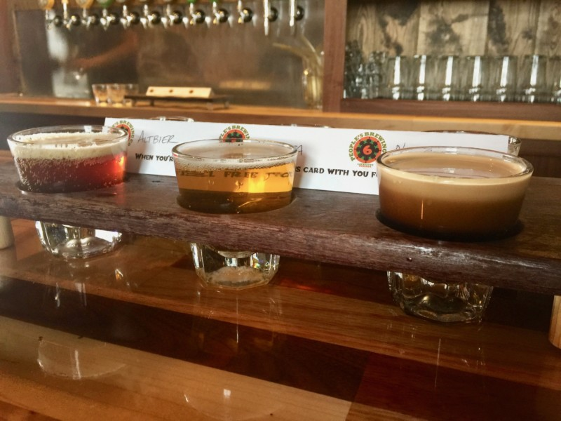 Vsiting West Lafayette must include a tasty beer or sampling from People's Brew.